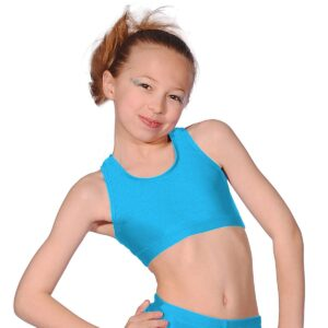 Tappers and Pointers Gymnastics Hipster Micro Shorts Aqua Hologram Meteor